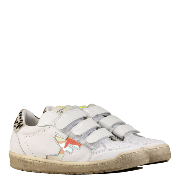 Serafini Diego Low 02 White Iridescent