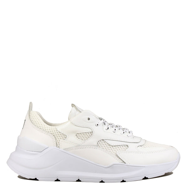 Snakers off white D.A.T.E Fuga Patent White