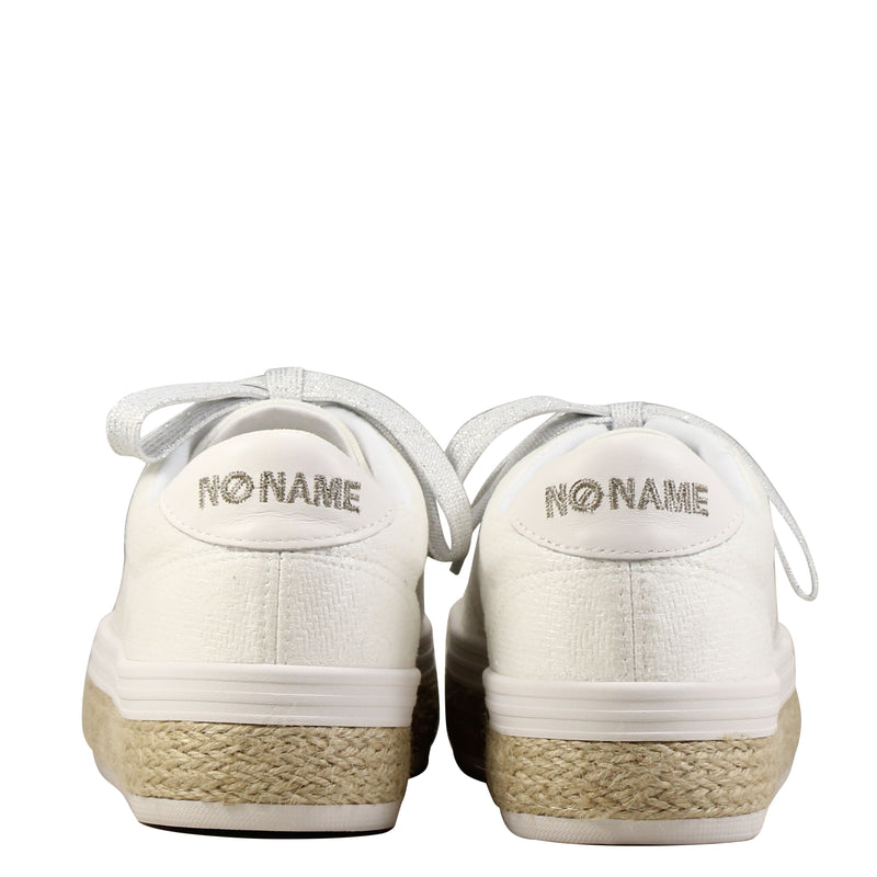 No Name Malibu Sneaker Braidy White