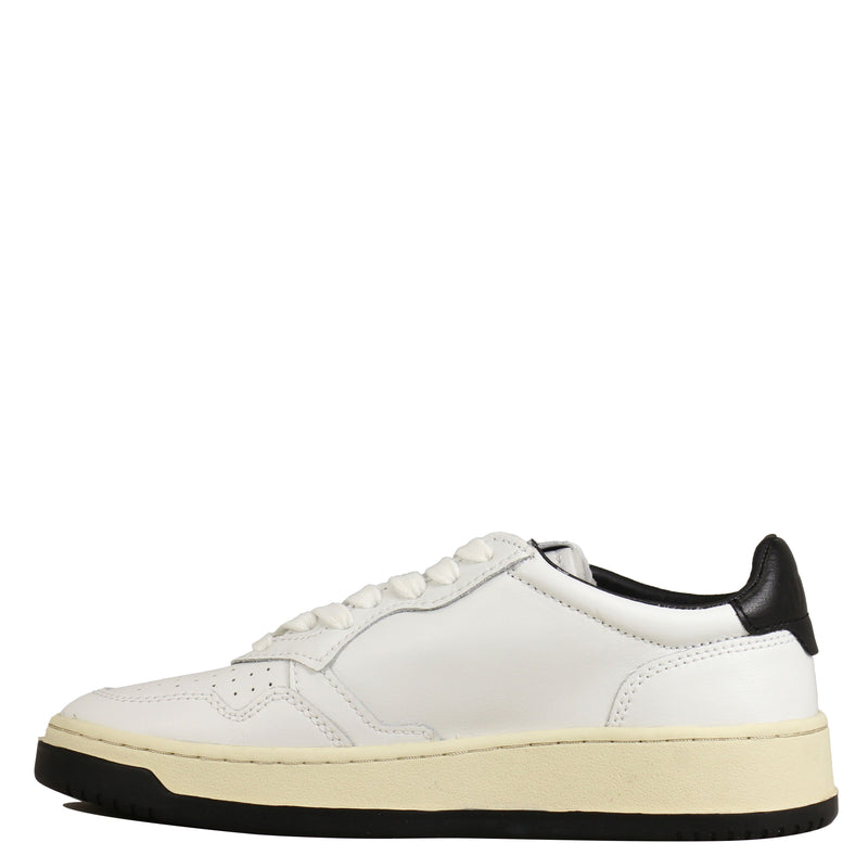 Autry Action Shoes 01 Low Bicolor White Black