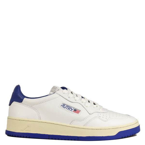 Autry Action Shoes 01 Low Bicolor White Blue