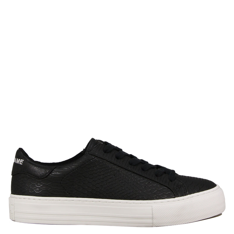 No Name Arcade Sneaker Print S Black