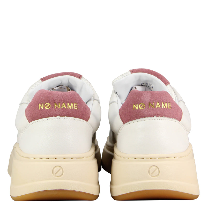No Name Bridget Trainer White Old Pink