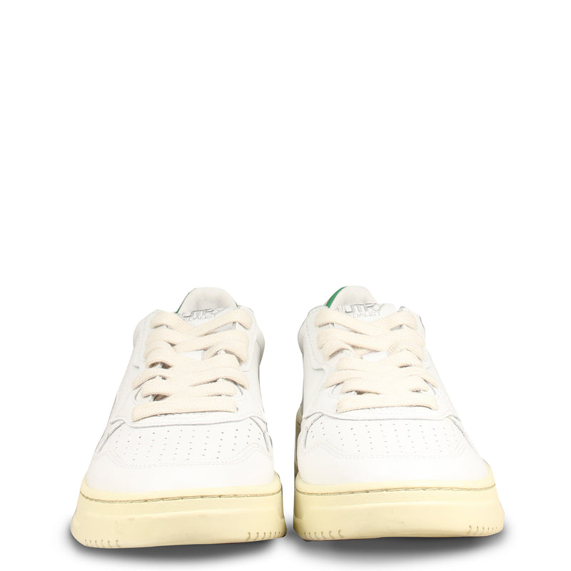 Autry Action Shoes 01 Low Leather White Amazon