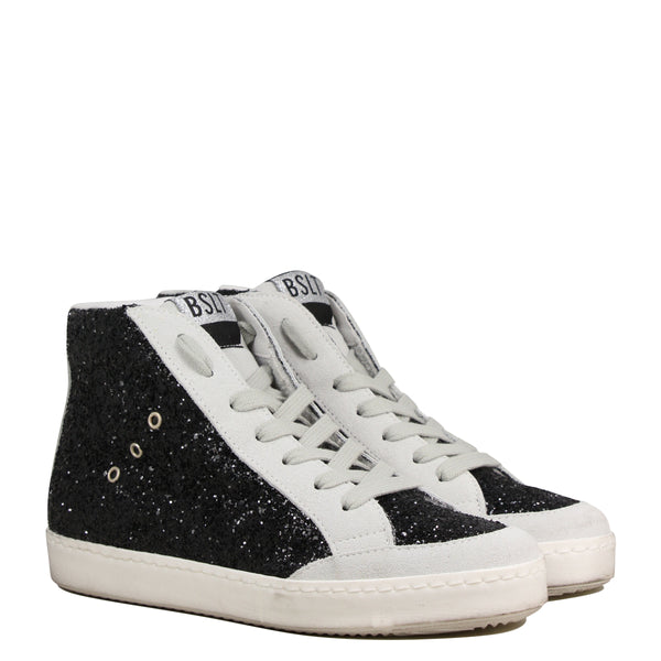 Basalt Snik High Grey Glitter Black