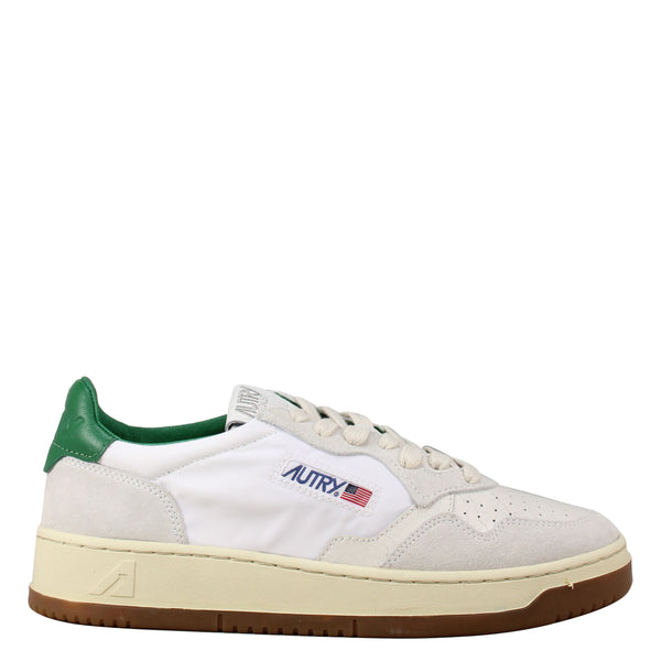 Autry Action Shoes 01 Low Nylon Bi White Amazon