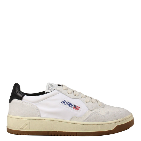 Autry Action Shoes 01 Nylon Bi White Black