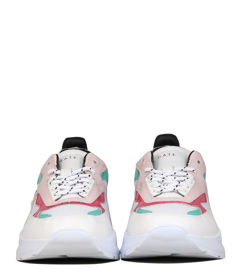 Snakers off white D.A.T.E Fuga Water Pink