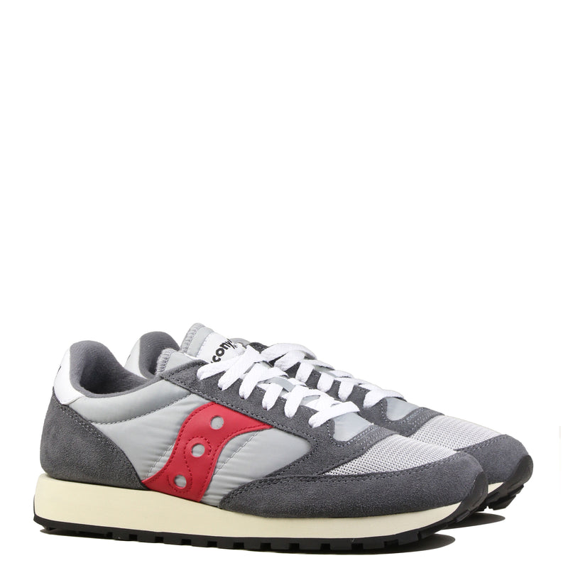 Saucony Jazz Vintage Grey Red