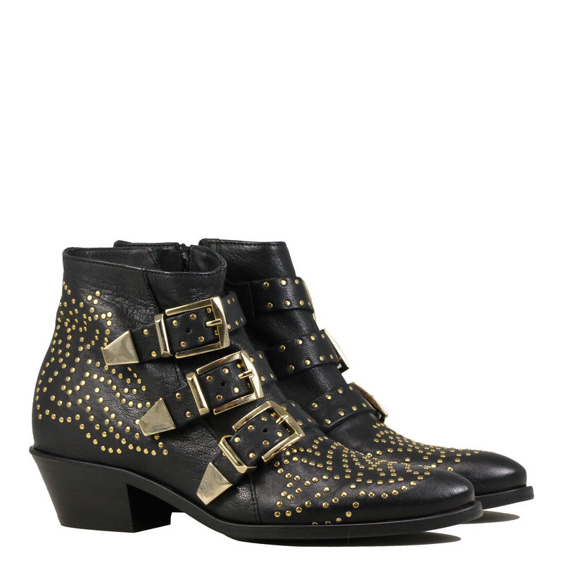 Boots Lemare' 0351 Black Gold