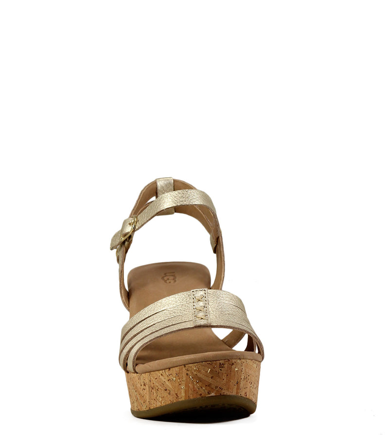Ugg Brigitte Metallic Gold