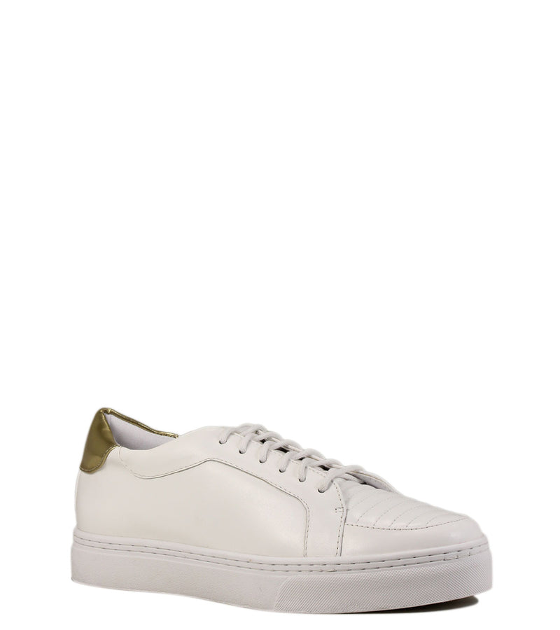 Sneakers blanches et or Andy III White / Gold