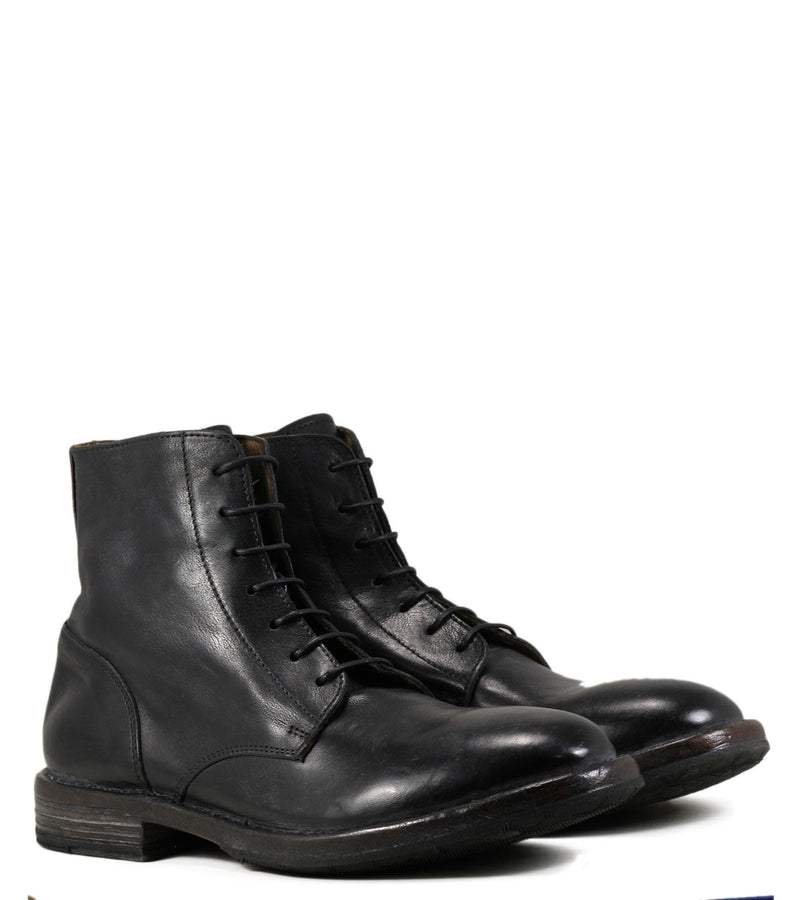 Boots à lacets MOMA 54602 Cusna Nero