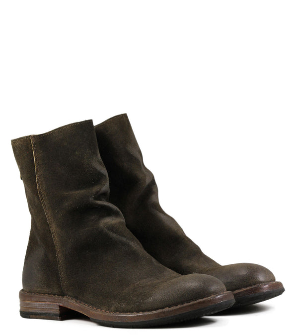 Boots Moma 77601 Velour Taupe