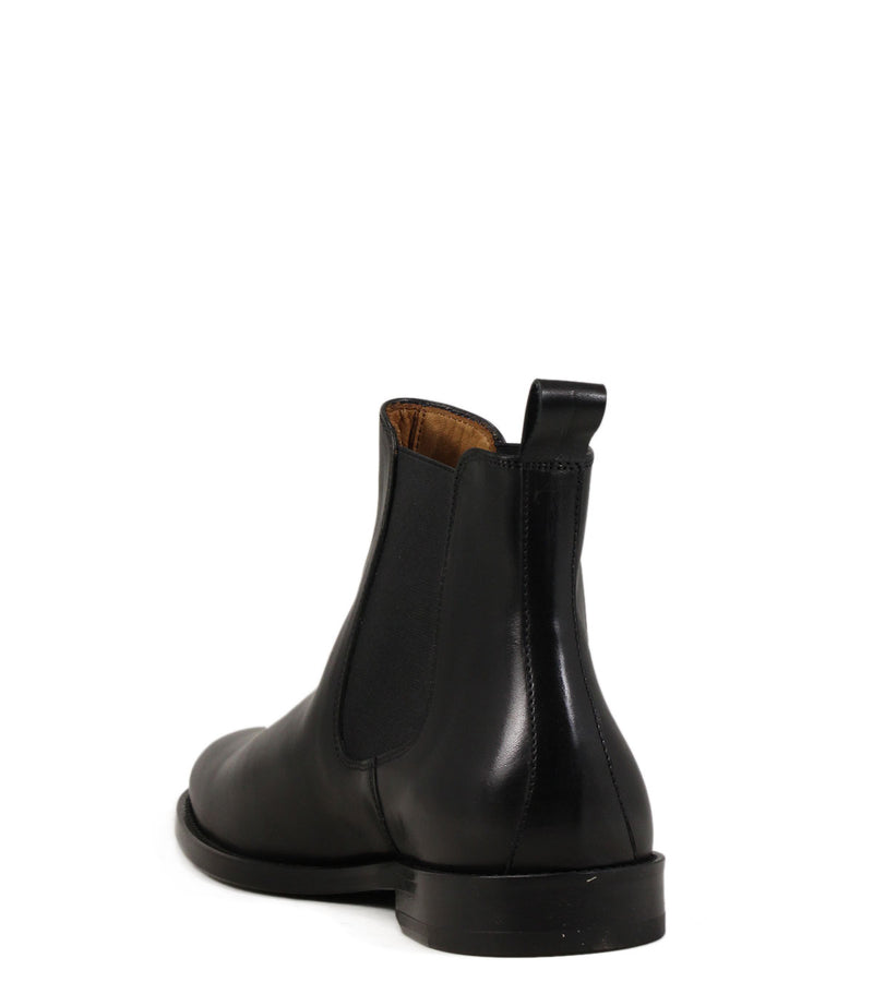 Chelsea Boots Anthology Paris 7211 Cuir Noir