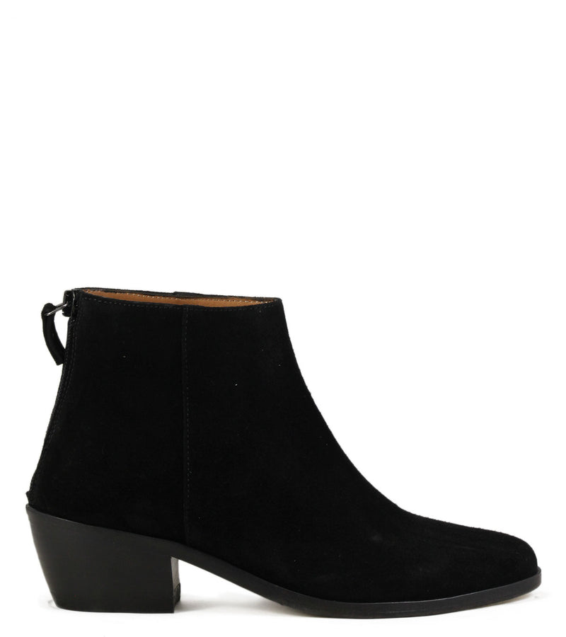 Boots western Anthology Paris Telma Daim Noir