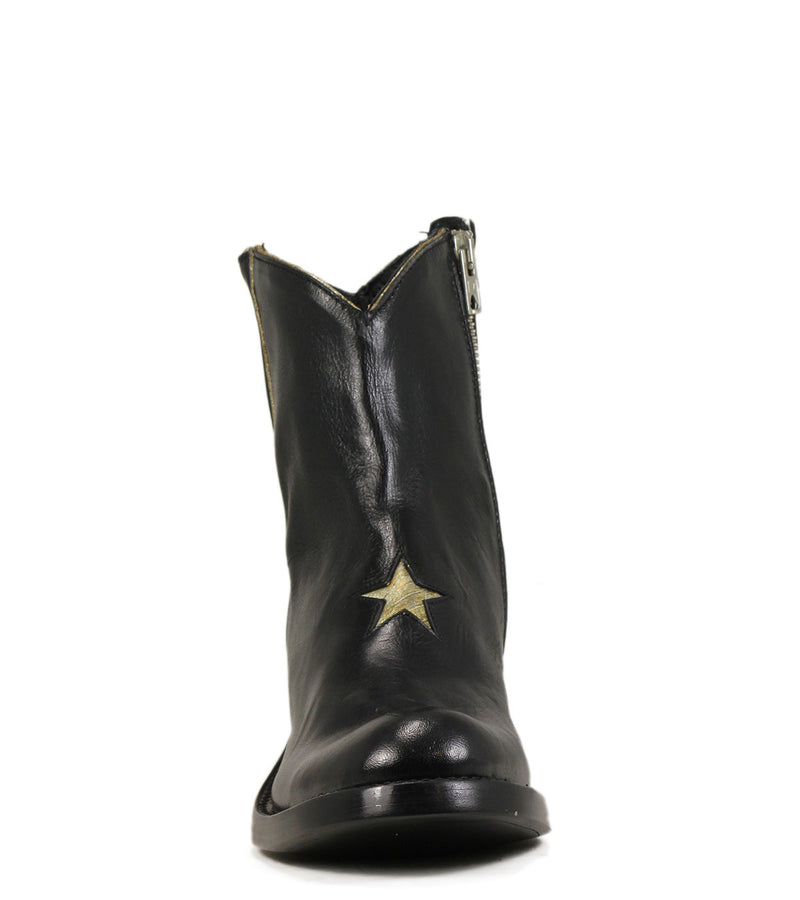 Boots western Mexicana Star Black Gold