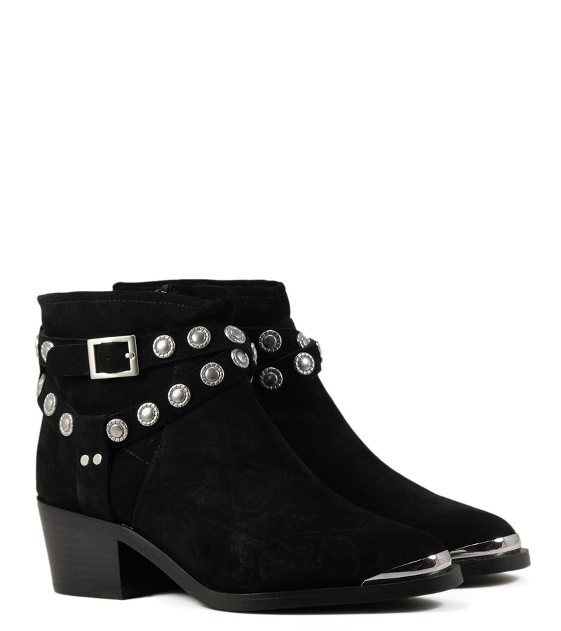 Boots rock pointues Senso Xyler II Ebony Suede