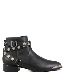 Boots rock pointues Senso Danny Ebony