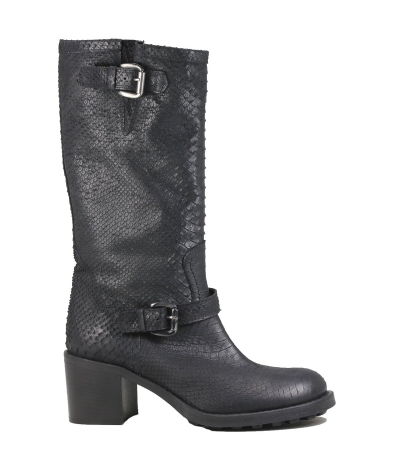 Bikers en cuir  Strategia P864 Shade Nero
