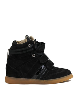 Sneakers Serafini Manhattan Basic Suede Black