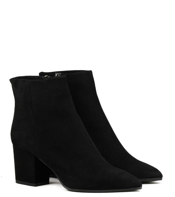 Bottes en daim noir The Seller S5265 Camoscio Nero