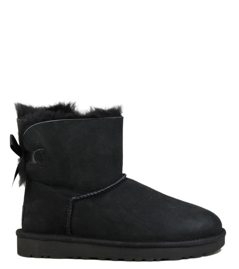 Boots UGG Kids Mini Bailey Bow Black