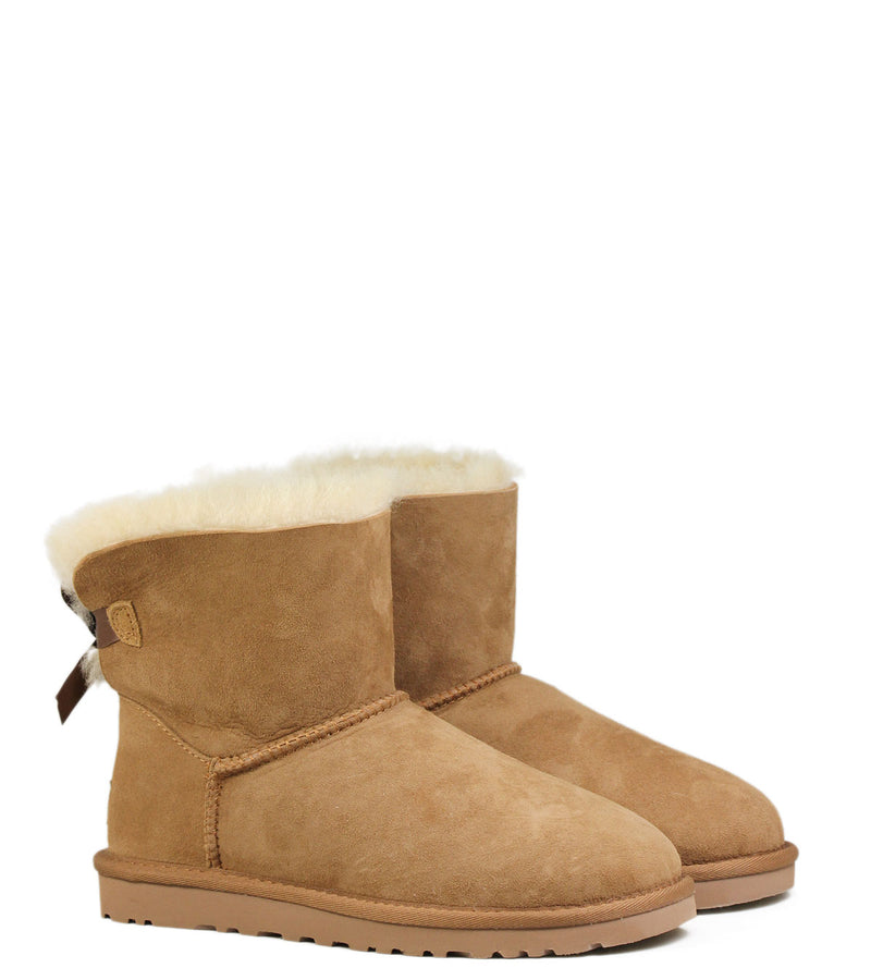 UGG Kids Mini Bailey Bow Chestnut