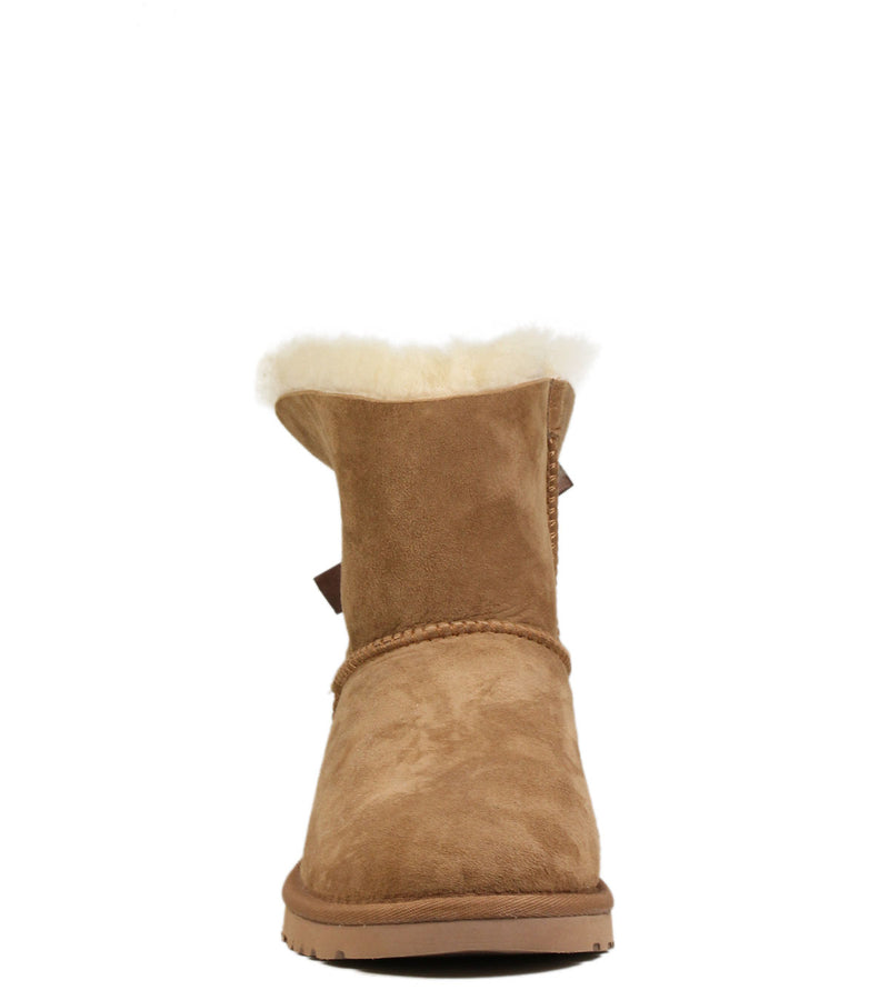 Boots UGG Kids Mini Bailey Bow Chestnut