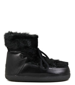 Moon-Boots Inuikii Rabbit Low Black