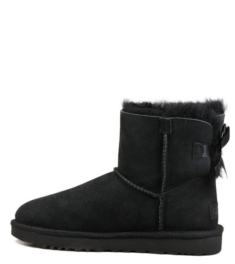 Boots UGG Mini Bailey Bow Black