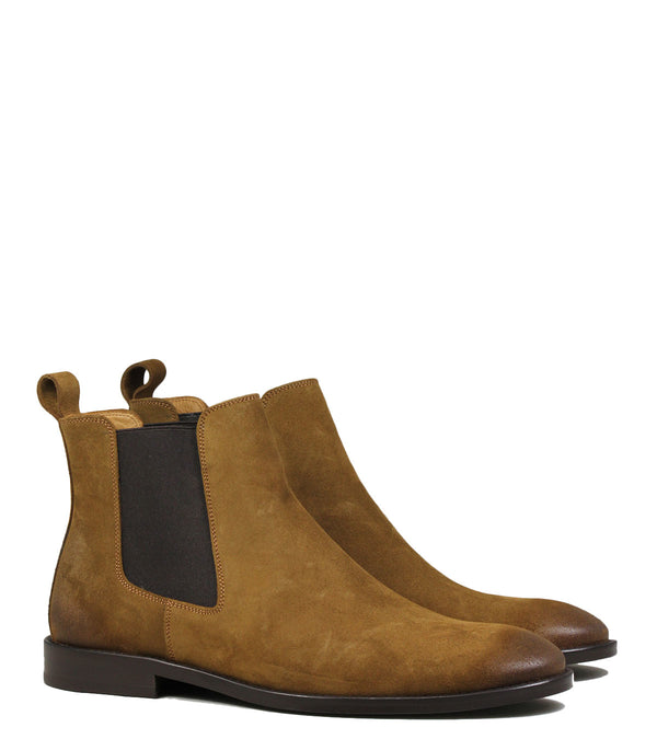 Chelsea Boots Anthology Paris 7211 Daim Tabacco