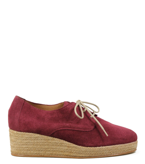 Derby espadrille compensé Sessun Bloom Hibiscus