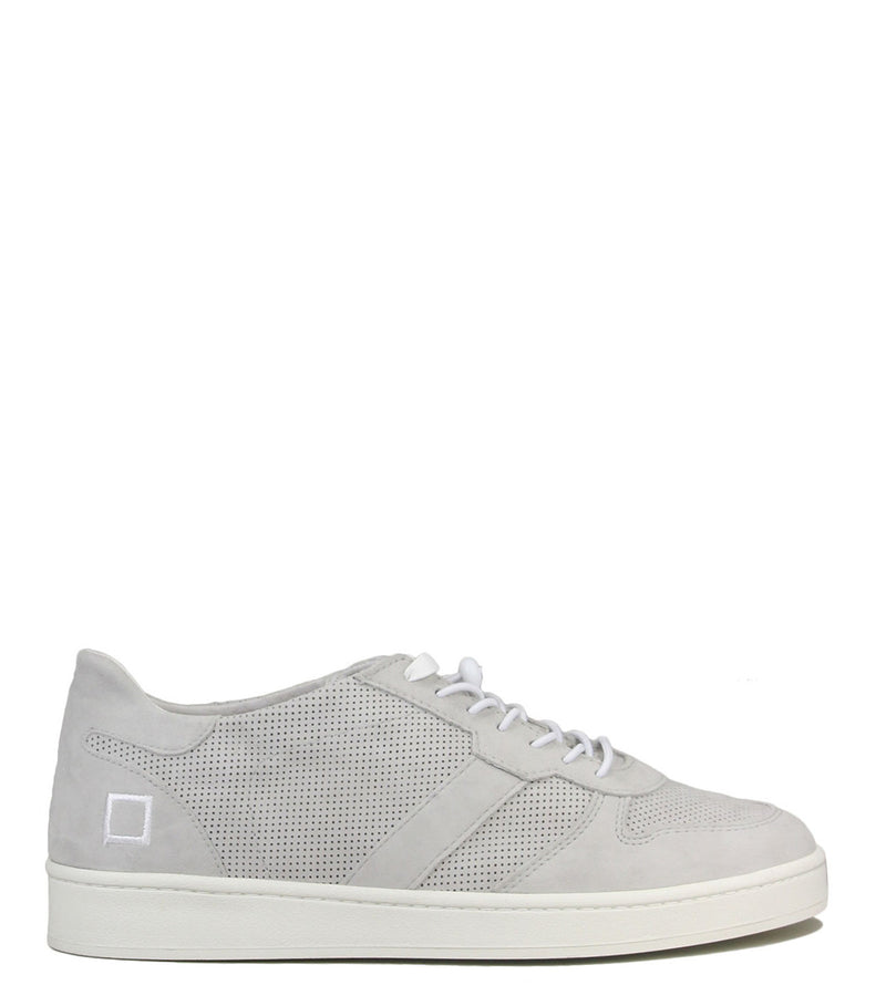 Sneakers perfo D.A.T.E Court Perforated Gray