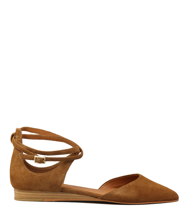 Ballerines What For WF116 Dark Camel
