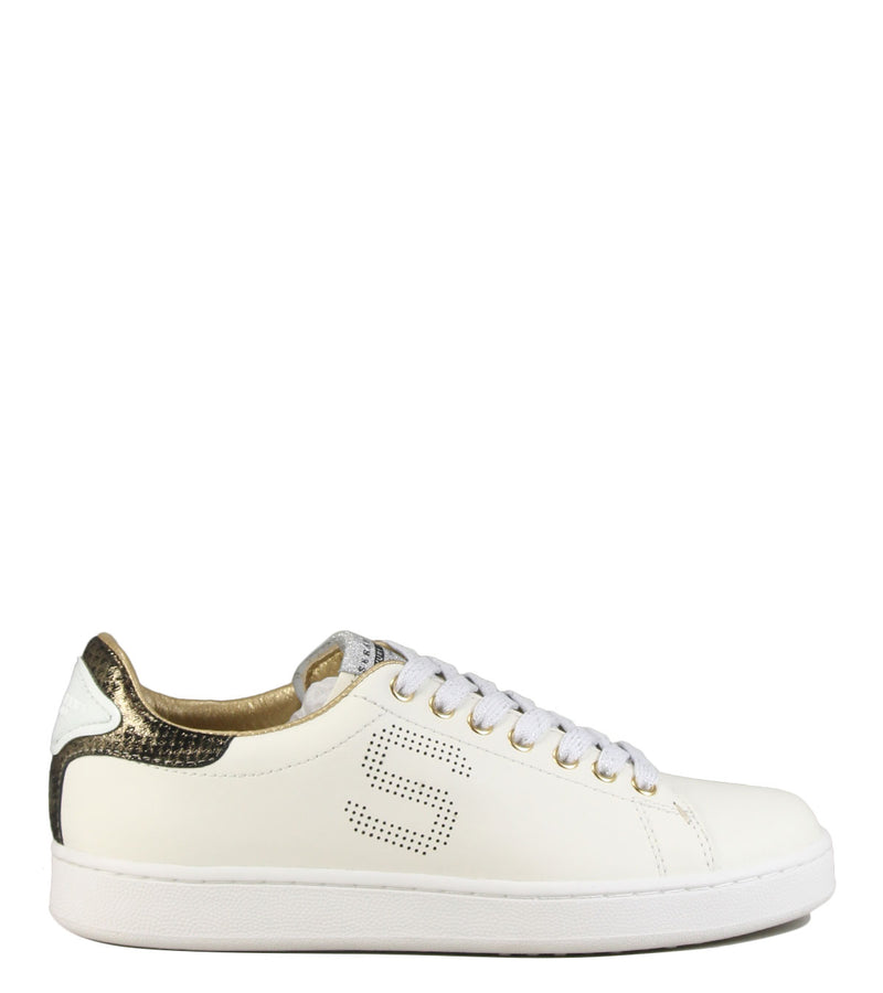 Sneakers Serafini Connors 53 White + Gold