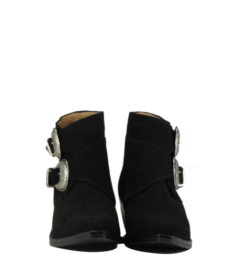 Boots pointues Toga Pulla AJ780 Black Suede