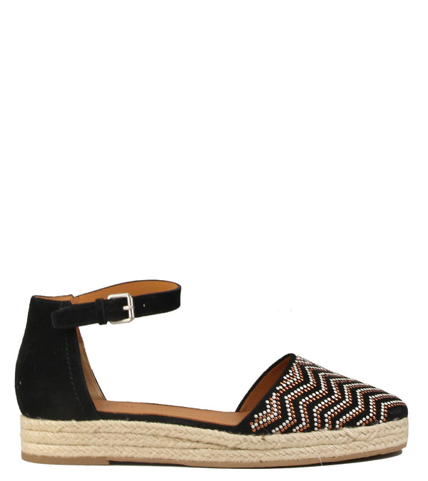 Ballerines espadrilles What For WF315 Black