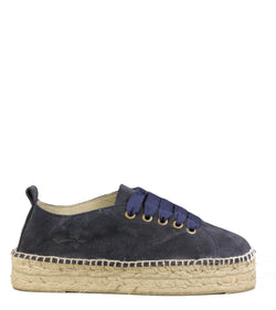 Manebi Hamptons Laces Patriot Blue