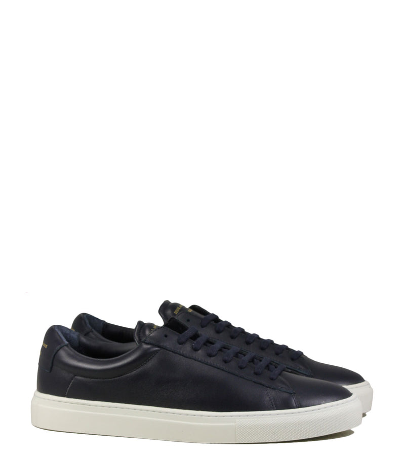 Baskets tout cuir Zespà ZSP4 High Navy