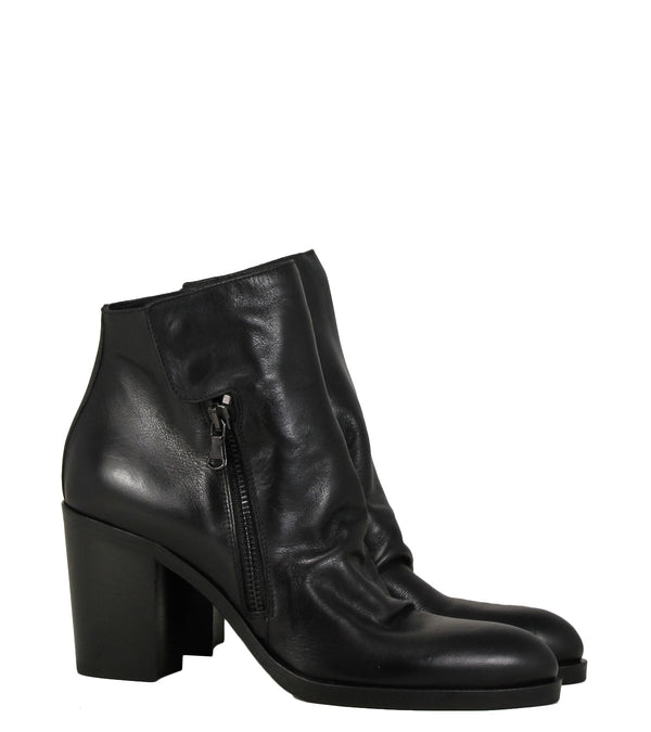 Boots rock Strategia E241 Nature Nero