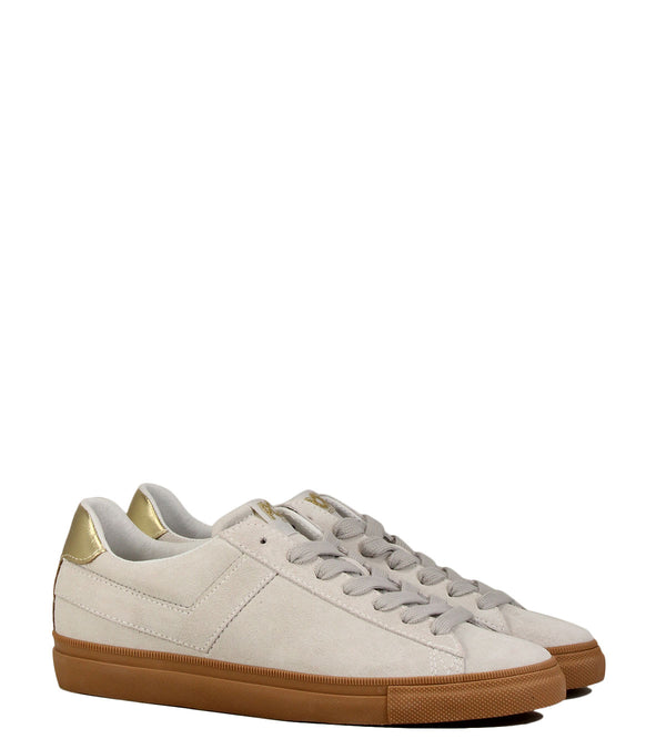 Sneakers Pony Topstar Ox Suede Cream