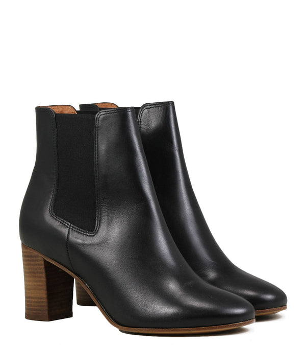 Rivecour 276 Black Calf Leather Boots