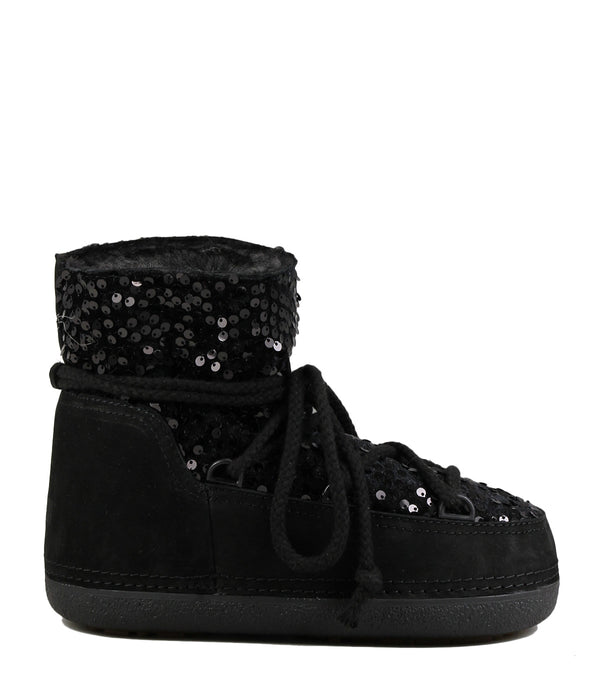 Moon-Boots Ikkii 14540 Sequin Low Black