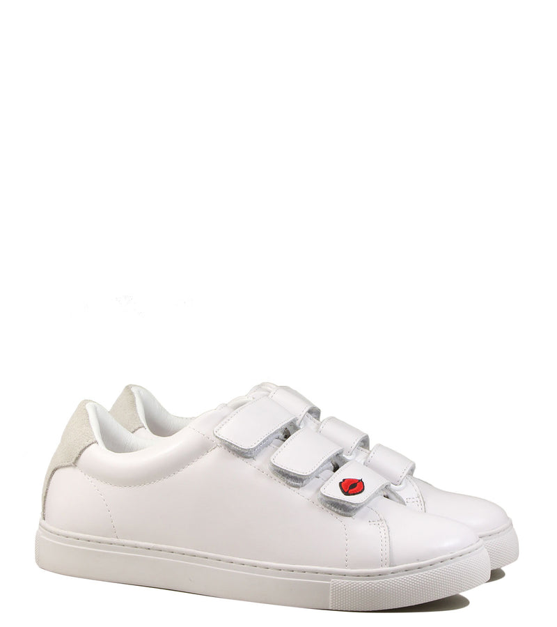 Baskets patchs Bons Baisers de Paname Edith Legend White