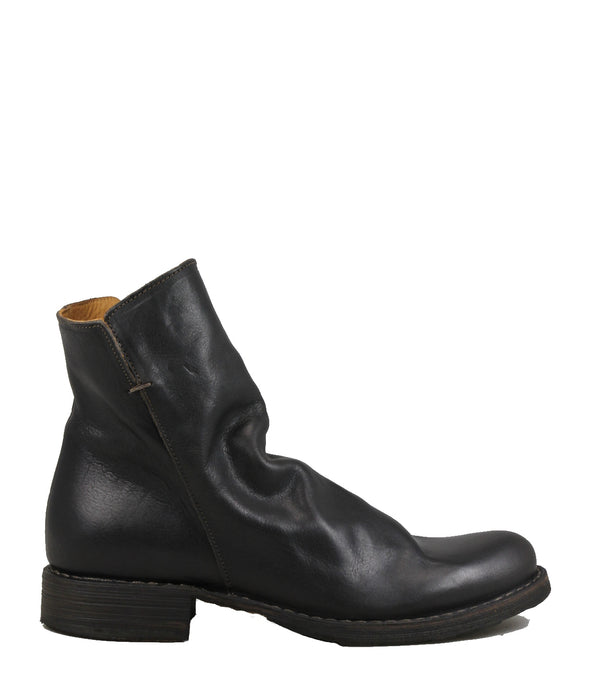 Boots en cuir marron Fiorentini + Baker Elf Dark Brown Leather