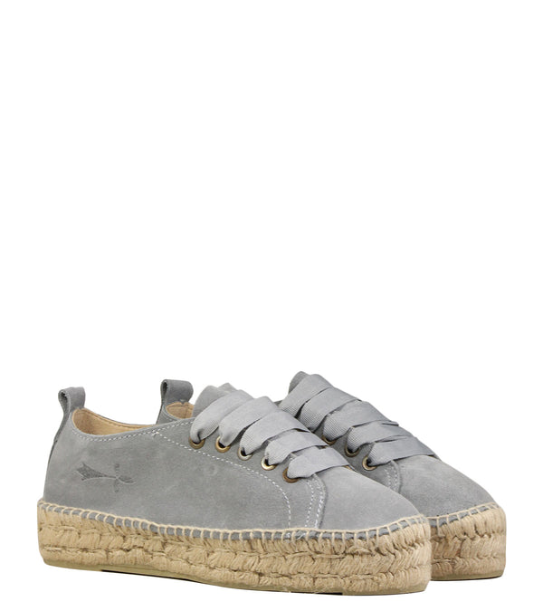 Manebi Hamptons Grey Suede AC1E