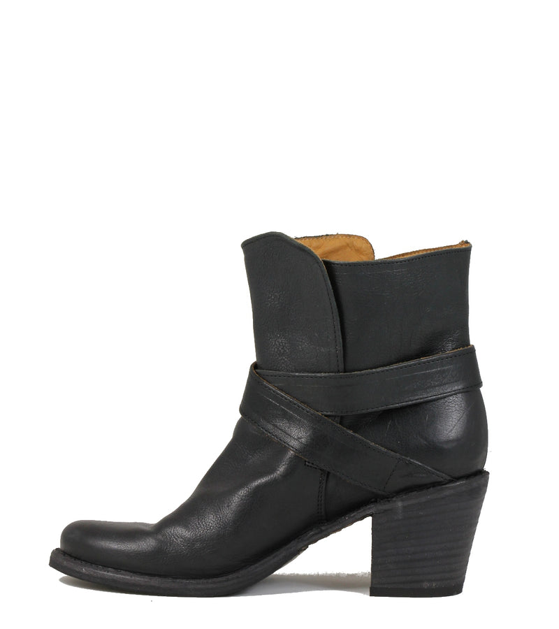Fiorentini + Baker Nubis Black Leather Boots