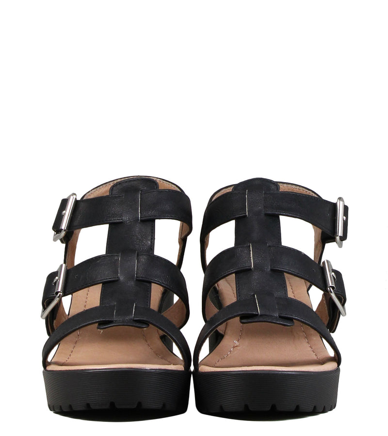 No Name Tango Sandal After Black