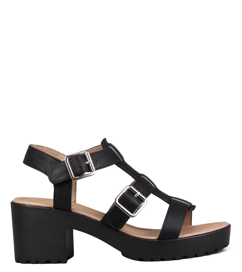 Nu-pieds No Name Tango Sandal After Black